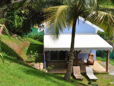 Photo for Creole Bungalow in a tropical garden