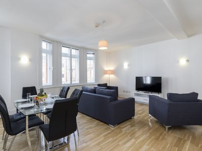 Photo for HEART OF MARYLEBONE CLOSE TO REGENTS PARK, OXFORD ST AND BAKER ST - SPACIOUS 3BR