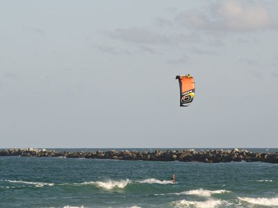 Visit The South End Of Wrightsville Beach A Por Spot To Watch Kite Surfers Throughout