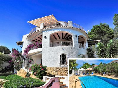 Photo for This 3-bedroom villa for up to 6 guests is located in Javea and has a private swimming pool and Wi-F