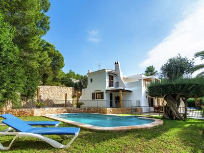 Photo for Cozy Holiday Home in Santa Eulària des Riu with Private Pool