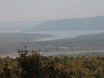 Photo for Ozark Oasis has a stunning view with lots of room to relax! Minutes from lake!