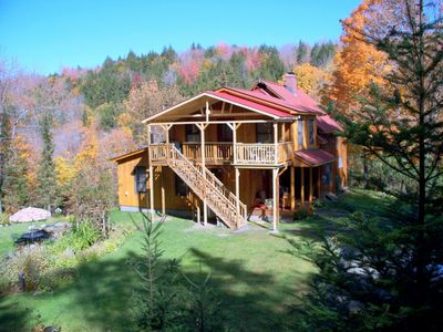Photo for Mountain Home On 75 Acres With Brooks & Waterfalls In Cent