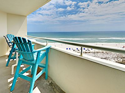 Photo for 1BR Beachfront w/ Balcony, Views & Pools – Walk to Shops & Restaurants