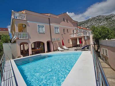 Photo for Cottage Kathy with pool and large terrace with stunning views of the sea