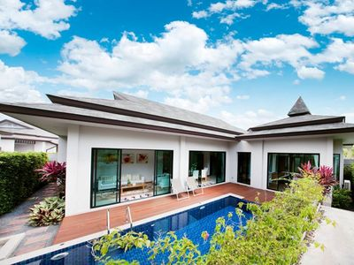 Photo for 3 BDR Tanode Estate Pool Villa @ Choeng Thale / Layan
