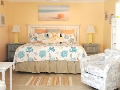 Photo for Gulf View (Ocean) Condo - Steps from Barefoot Beach near Naples