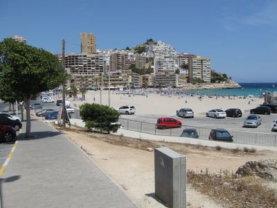 Photo for Cozy apartment with seaview to sandy beach La Cala Finestrat
