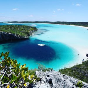 Explore the island and DO NOT MISS Dean's Blue Hole.  About 45 minutes south...