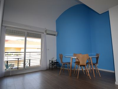 Photo for Modern duplex apartment for 4 persons in Riquier district in Nice