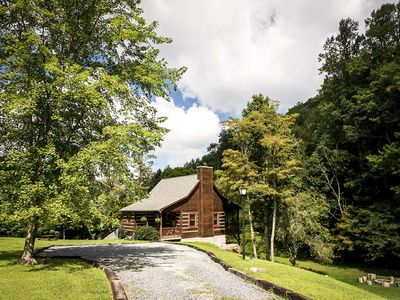Photo for Our Neck Of The Woods - In Valle Crucis. Hot Tub, Creek, Pool Table, Firepit, 1 mi to River!