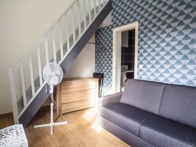 Photo for Homerez last minute deal - Amazing apt with garden and Wifi