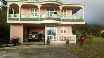 Photo for Spacious Pet Friendly 3 Bedroom Vacation Rental Home Near Roseau, Dominica