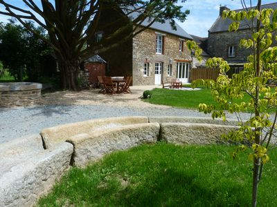Photo for Cottage with character and charm, near Dinan, Dinard, St Malo and Mont St Michel