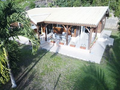 Photo for Superb wooden villa, full of charm (150m2)