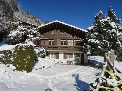 Photo for Holiday apartment Lauterbrunnen for 2 - 3 persons with 1 bedroom - Holiday apartment