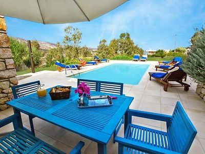 Photo for Vacation home Electra  in Stavros, Chania, Crete - 10 persons, 4 bedrooms