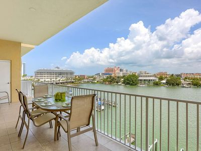 Photo for Waterfront, Big Balcony, Upscale Kitchen, Free Wi-Fi & Cable, W/D, Pool, Garage - 502 Bay Harbor