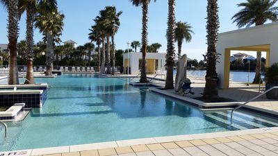 Photo for On 30A Water lovers dream!! 4 gorgeous pools, Lake and Ocean . Pet Friendly