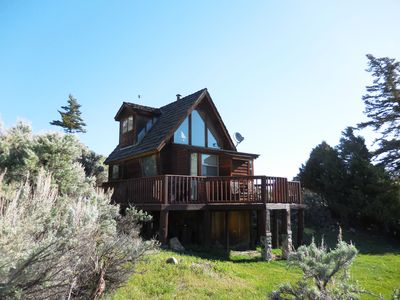 Photo for Secluded Yellowstone Country Cabin, 20 min. from Yellowstone  wi-fi