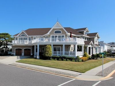 Photo for Enjoy this very attractive home close to the beach for your summer vacation.