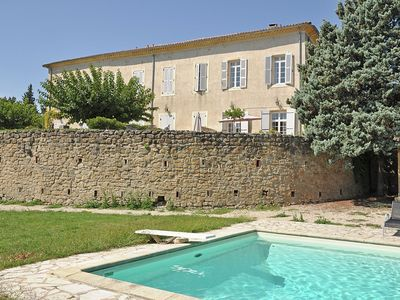 Photo for Home in a castle with shared swimming pool and bakery within walking distance