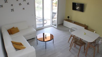 Photo for Holiday apartment Baška Voda for 4 - 6 persons with 2 bedrooms - Holiday apartment