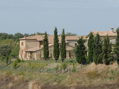Photo for Panoramic and cosy house in Tuscany countryside near Montalcino and Siena