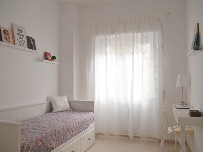 Photo for Lovely days in Ostia. Comfortable apartment, calm and bright, near the Metro