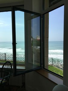 Photo for Superb sea view apartment in charming residence