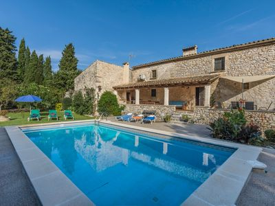 Photo for Fully Restored Stone Farmhouse, Private Pool in a Peaceful Area 5 km from the Town of Pollensa!