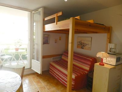 Photo for THE FAVIERE - Charming well-appointed studio near the beach.