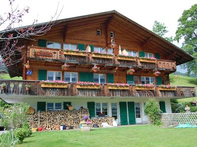 Photo for Holiday apartment Grindelwald for 2 - 4 persons with 1 bedroom - Holiday apartment in a farmhouse