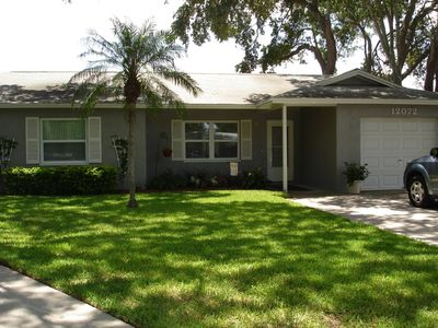 Photo for Charming Home with Pool , 1 mile from Gulf Beaches