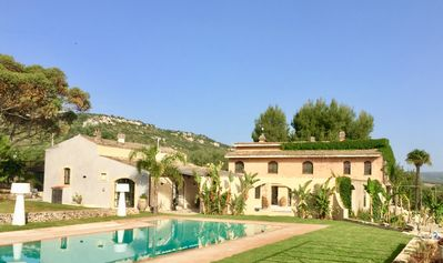 Photo for In the olive trees, sea at 3 km - Superb charming house with swimming pool