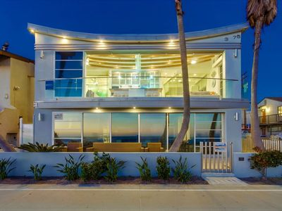 Photo for Oceanfront in The Heart of Mission Beach - WOW views!