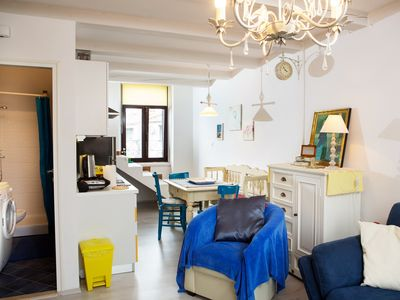 Photo for Holiday apartment in the city center with air conditioning Rovinj