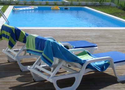 Shared pool and decking