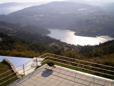 Photo for House in organic farm with private pool and stunning views of the Douro River