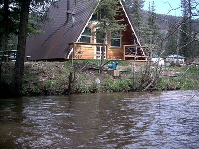 Photo for Creekside A-Frame One acre of land