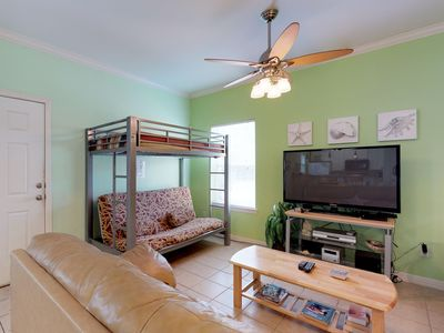 Photo for NEW LISTING! Oceanside retreat w/shared pool - close to beach & amusement parks