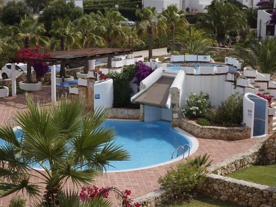 Photo for Cala Egos-Two Bedroom Apartment, Family Friendly, Swimming Pool and Sun Terrace