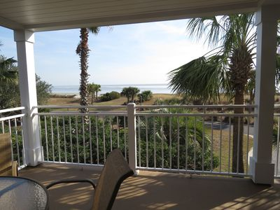 Renovated corner porch with fabulous ocean view!