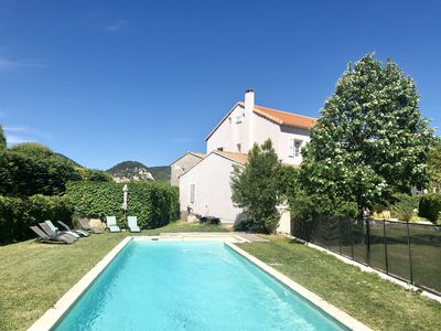 Photo for Family house in Provence 2min from Séguret, enclosed garden * 12 people, 240 m2