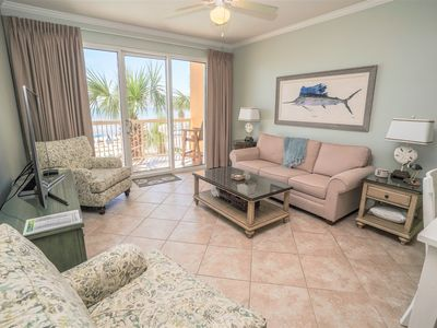 Photo for LOW FLOOR! COMPLETE REMODEL 3/2019! Direct Beachfront, Fab Amenities, Across from Pier Park!