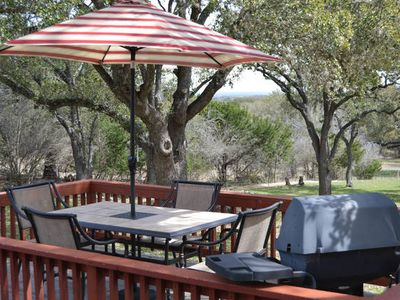 Photo for Quiet Hill Country Hideaway is close to Boerne, Fredericksburg and much more.
