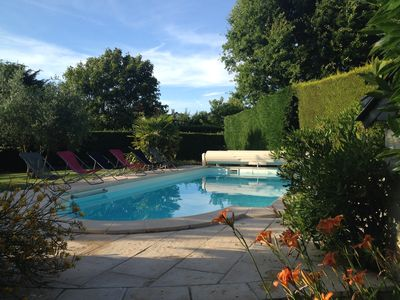 Photo for Le Pivoine - 3 restored country barns with heated pool in the Loire valley