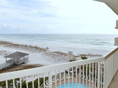 Photo for Gulf View, Steps from the Beach, Family Friendly