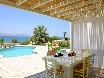 Photo for Valea 3 Bedroom Sea View Villa  in Naxos