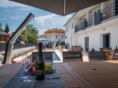 Photo for Pool & Sea | 4 * holiday home in a central location